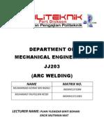 Arc Weld Report