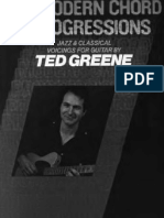 Modern Chord Progressions - Ted Greene