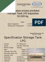 manufaktur storage tank LPG