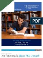Ensayo Oficial Matematica Demre 2012