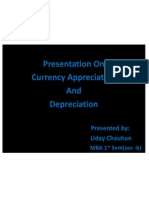 Presentation on Currency Appre and Deprec