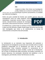 Etapas del proceso de investigaci-¦ón Dr. Flores