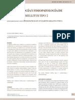 Epidemiologia y Fisiopatologia de La Diabetes Tipo 2