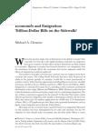 Economics and Emigration