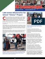 "CBR Enlists Missionaries for School ""Choice"" Project in Arizona (Prolife Propaganda)"