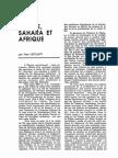 Leclant - Égypte, Sahara et Afrique