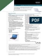 Laptop Sony VPCEE23EL