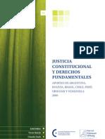 Justicia Constitucional y Derechos Fundamentales - 2009