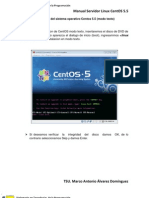 1 - Revisar - Instalacion de Centos 5.5