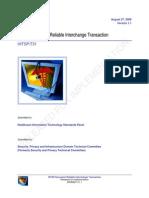 T31 - Document Reliable Interchange