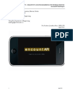 [AR] EncountAR Final Report - demo link in descriptions