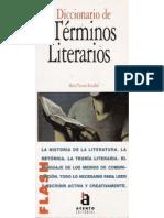 Diccionario de Términos Literarios - Victoria Reyzabal