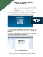 Petunjuk Penggunaan Cctv Menggunakan Browser