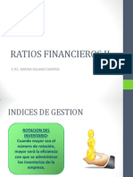 Ratios Financieros II