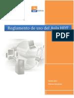 Reglamento de Uso Del Aula HDT