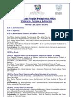 Programa Amja Ushuaia 2012