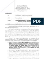 Strict Implementation of Regulations in the Detail of PSP_july 27