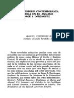 acerca de la obra de Jorge I. Domínguez