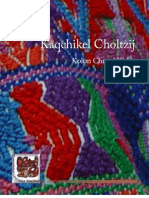 Kaqchikel Choltzij - K'ak'a taq Tzij