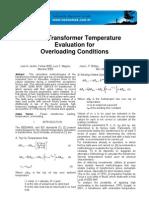 Transformer Evalution Overloading Conditions