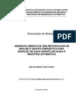 TESE - GERAÇÃO DE ÁGUA QUENTE APLICADA À