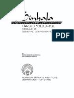 Sinhala Basic Course 2