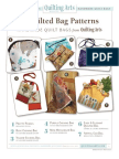 7 Quilted Bag Patterns