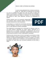 Ensayo Sobre La Tecnologia Virtual Beatriz Mejia