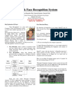 Face Recognition IEEE Paper Format