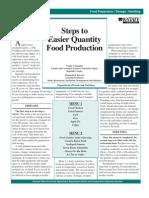 Catering Food Quantification