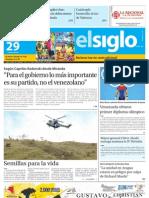 Edicion Domingo Maracay 29-07-2012