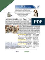 Supreme Court orders complete ban on tiger tourism - Sukanya Kadyan