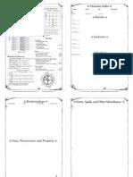 BWG Booklet Sheet - Fire