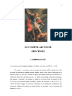 Oraciones a San Miguel