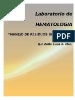 Laboratorio de HEMATOLOGIA