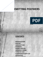 Light emitting polymers