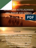 Dita Ajeng_abu Bakar Ash Siddiq