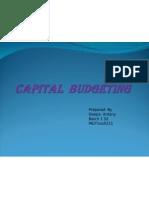 Capital Budgeting-Deepa