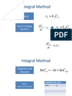 Handout Version Integral Method
