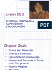 Chapter 02 Chemical Formulas & Composition Stoichiometry