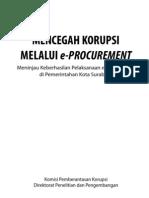 Mencegah Korupsi Melalui Eprocurement