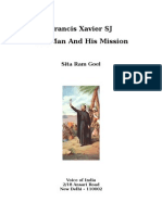 Francis Xavier SJ- The Man and His Mission
