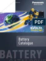 Panasonic Battery Catalogue en 2012