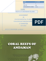 PPT on Corals of Andaman