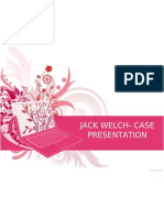 Jack Welch- Case Presentation