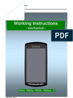 Sony Ericsson Xperia Play R800 Z1 Working Instructions - Mechanical v1
