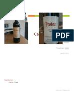 Certificate in Wines