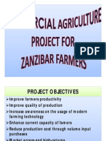 Commercial Agriculture Presentation - Brian M Touray