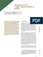 Exclusión, aislamiento social y personas sin hogar. Bachiller, S. 2010
