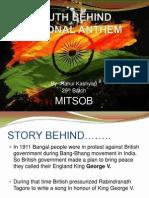 Truth Behind National Anthem